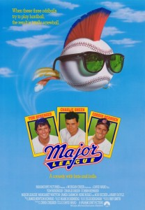 Official Major League Movie Poster